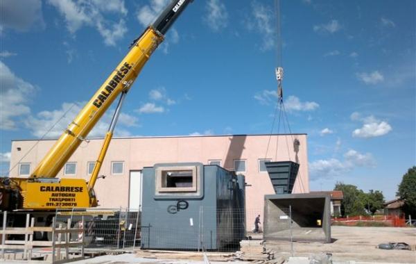 Impianto di cogenerazione a Biomassa di Busca  - Assicurato durante la costruzione con polizza EAR e una volta ultimato con polizza All Risks ed estensione Alop